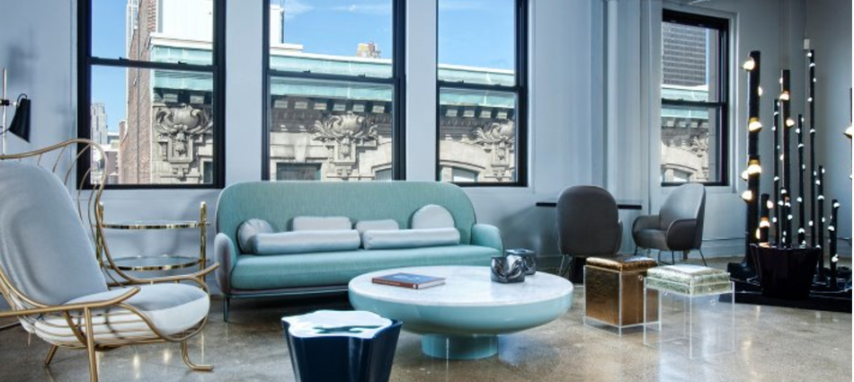 """New York receives designers from all over the world to design events like diversity of showrooms with contemporary rugs and haute design furniture. Here are the best showroom selection."" showrooms in new yo Best Showrooms in New York 08Best Showrooms in New York"