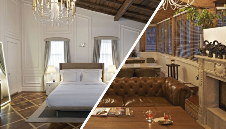 """""""Istanbul is a natural gateway spanning the European and Asian continents. To take the best of the city you must find a cool and also beautiful place to stay and rest, here are the best design hotels where to sleep and rest."""""""