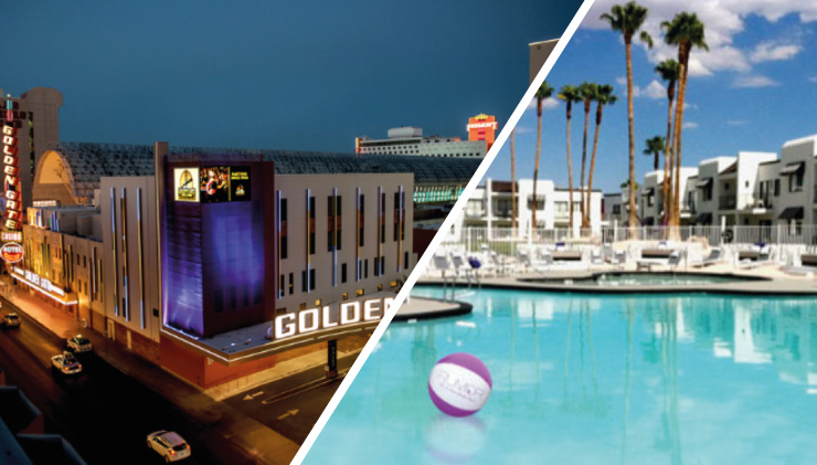 Las Vegas Is An Internationally Renowned Major Resort City For Ping And Golden Gate Hotel