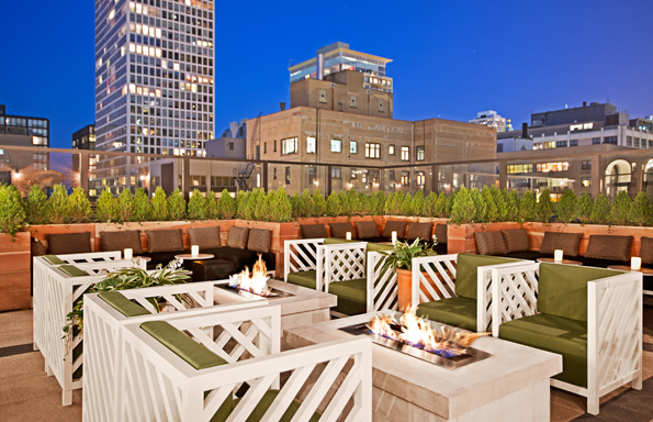 """Feeling the Miami heat, sultry, sunny summer is well under way, and where better to spend it than atop a roof, with cocktail in hand, in one of our fave, fab cities.""  Best rooftop views with a Miami feeling Drumbar blog"