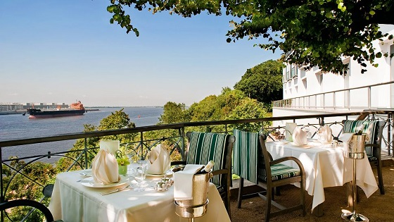 """""""Looking for a 5 star hotel in Hamburg? Then here you have -- a selection of the best 5 luxury hotels in Hamburg, Germany.""""  TOP 5 Luxury Hotels in Hamburg Best Design Guides TOP 5 Hotels Hamburg Loius C Jacob 01"""