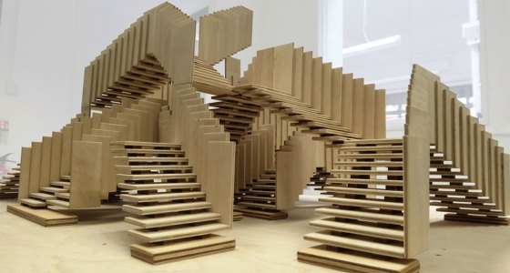 London Design – dRMM: Endless Stair endless stair model 02