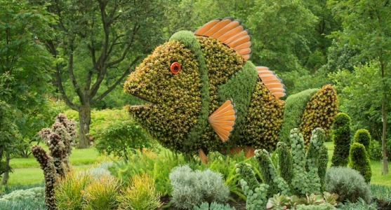 Living Sculptures Delight at the Montreal Botanical Garden Mosaicultures Internationales de Montreal 9