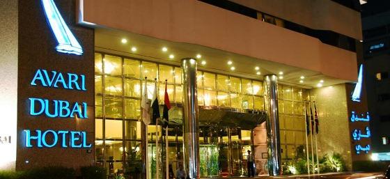 Avari_Dubai_Hotel_Exterior  Avari Dubai Hotel - Deluxe Property in Deira Avari Dubai Hotel Exterior