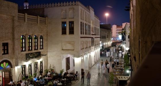 The local side of Qatar's capital Souq waqif doha qatar 01