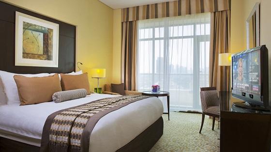 Bedroom - OAK  Business Hotels in Dubai – Time Oak Hotel & Suites  Bedroom OAK
