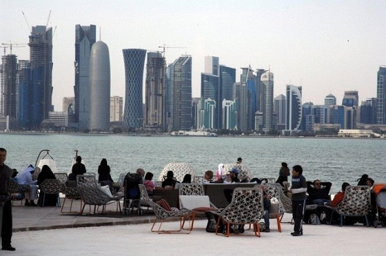 Idam-skyline  Fine dining In Doha? IDAM  Idam skyline