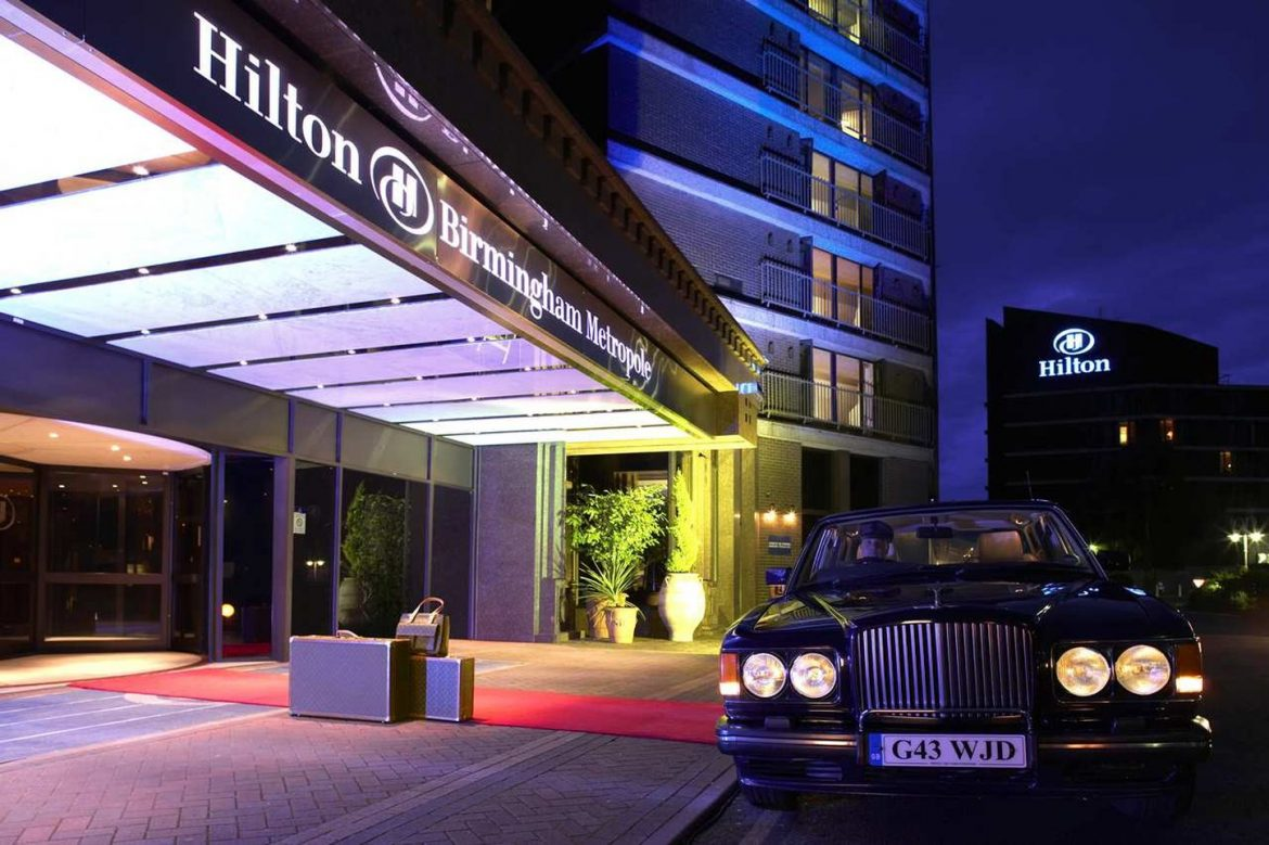 Top 5 hotels in Birmingham – City Guide Hilton Birmingham Metropole hotel