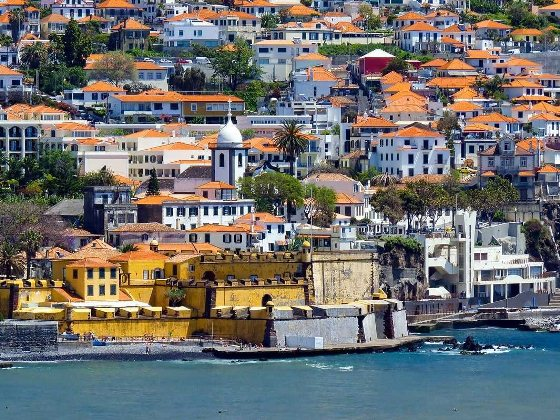 the-architecture-in-funchal-madeiras-largest-city-looks-beautiful-from-the-coastline  The Best Island In Europe: Madeira the architecture in funchal madeiras largest city looks beautiful from the coastline