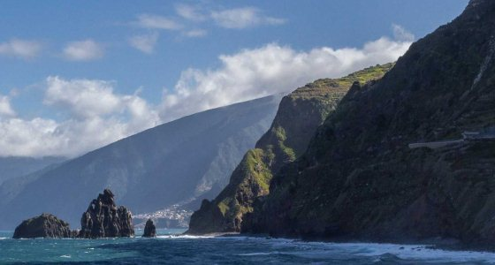 The Best Island In Europe: Madeira the islands have gorgeous cliffs that jut out into the atlantic ocean the scenery is spectacular