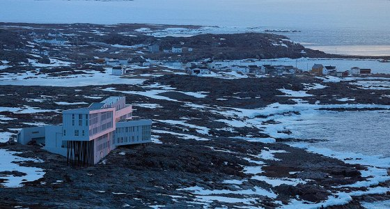 The Fogo Island Inn, Boutique Hotel in a Lunar Atmosphere 53fad39481424d9d655bcb25 item0