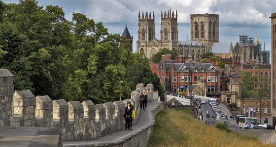 Top 10 budget restaurants, cafes and pubs in York England York Yorkminster from City Walls L