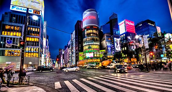 Ginza_at_Night,_Tokyo  Best design guides | Tokyo Ginza at Night Tokyo