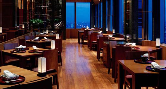 Park-Hyatt-Tokyo-Kozue-Tables  Best design guides | Tokyo Park Hyatt Tokyo Kozue Tables