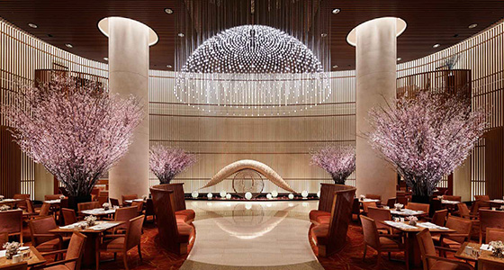 Best design guides | Tokyo Peninsula Tokyo lobby cherry blossom 1