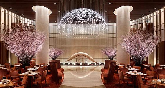 Peninsula-Tokyo-lobby-cherry-blossom  Best design guides | Tokyo Peninsula Tokyo lobby cherry blossom