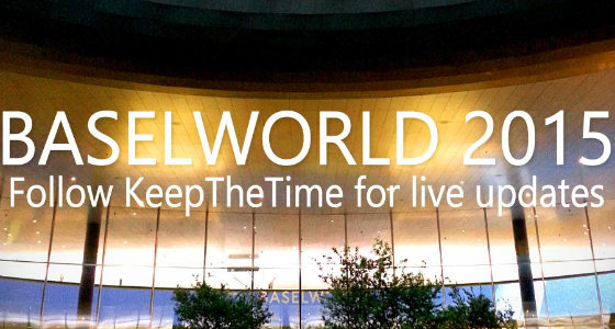 Visit Basel World 2015!