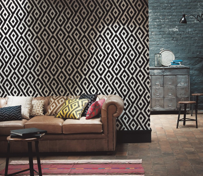 Deco Off Paris deco off paris Deco Off Paris: The Interior Design Event That You Cannot Miss! casamance horizons ikat flock 9650121 room