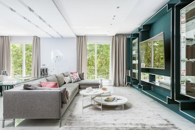 astonishing modern apartment modern apartment Delight Yourself With this Astonishing Modern Apartment in Paris 6ed95043864711