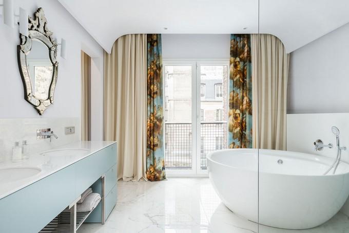 astonishing modern apartment modern apartment Delight Yourself With this Astonishing Modern Apartment in Paris MasterBR 26