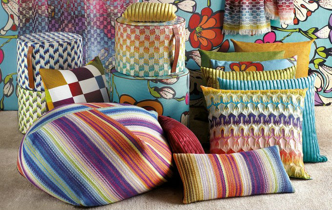 Spring Trends 2017 by Missoni Home Featured in Paris