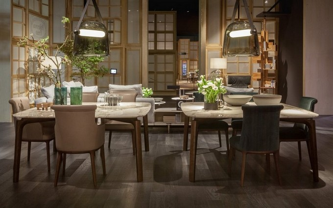 Roberto Lazzeroni poltrona frau milan design week 2017 isaloni 2017 Discover Poltrona Frau's New Collection Unveiled at iSaloni 2017 Roberto Lazzeroni poltrona frau milan design week 2