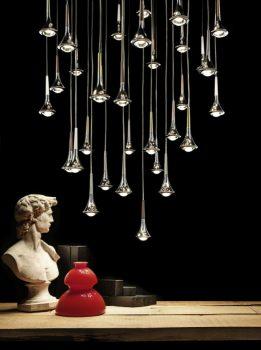 Rain Pendant Light Series by Studio Italia Design