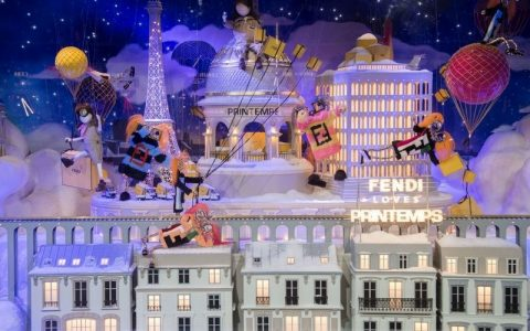 Best Design Guides Shows You the Best Christmas Windows 2017 > Best Design Guides > The latest news and trends in the design world > #bestchristmaswindows2017 #christmasdecorations #bestdesignguides