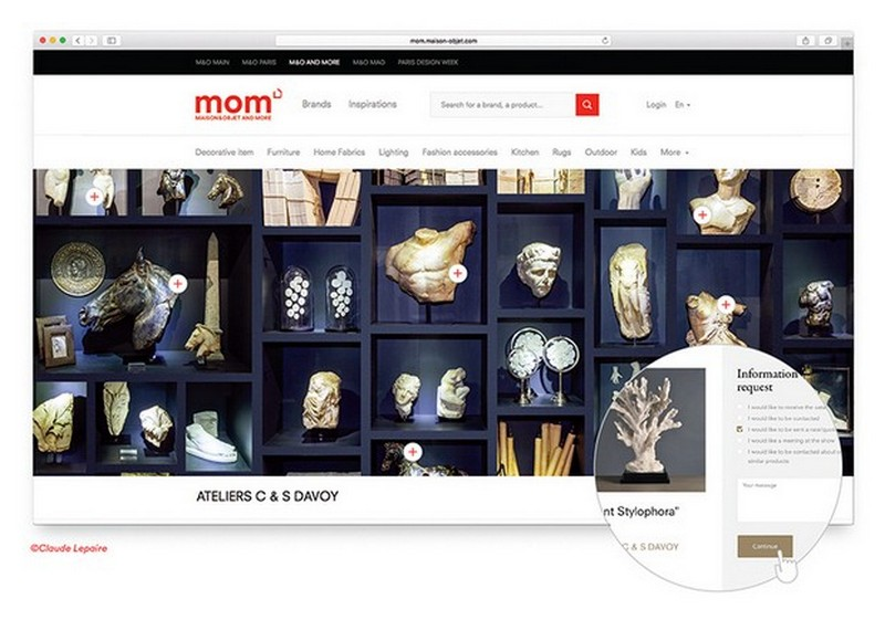 Maison et Objet: Best Design Guides Presents You to the MOM Platform > Best Design Guides > The latest news and trends in interior design > #momplatform #maisonetobjet #bestdesignguides Maison et Objet Maison et Objet: Best Design Guides Presents You to the MOM Platform Maison et Objet Best Design Guides Presents You to the MOM Platform 6