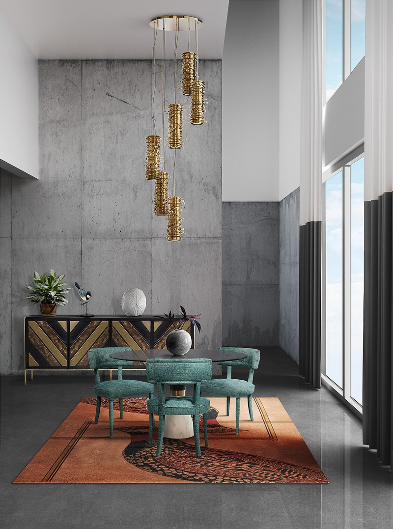 Modern Contemporary Interior Design how to use the 2018 color trends on modern contemporary rugs