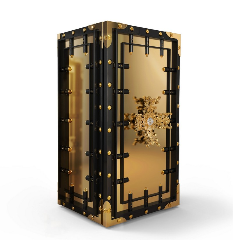 luxury safes Be Amaze by the Exclusivity of Boca do Lobo's Knox Luxury Safes Be Stunned by the Exclusivity of Boca do Lobos Knox Luxury Safes 1