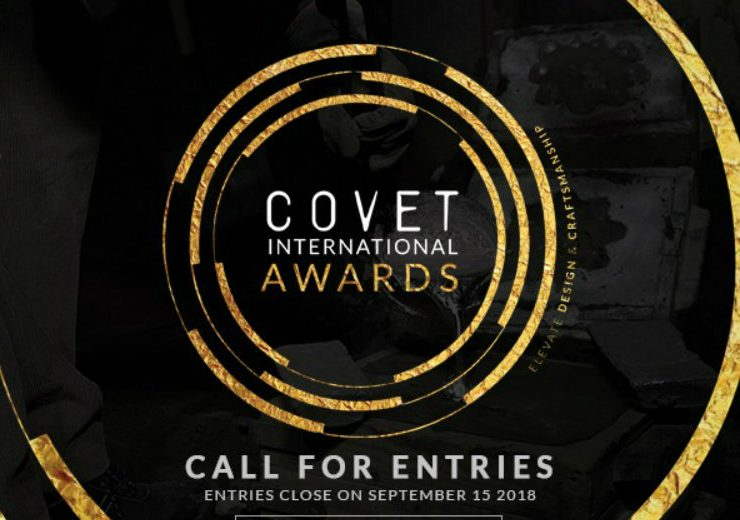 covet international awards Covet International Awards Announces Its First Edition covet international awards set to elevate design and craftsmanship 1 740x520
