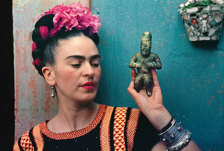 "frida kahlo You Can't Miss the ""Frida Kahlo: Making Herself Up"" Exhibition At V&A FEAT"