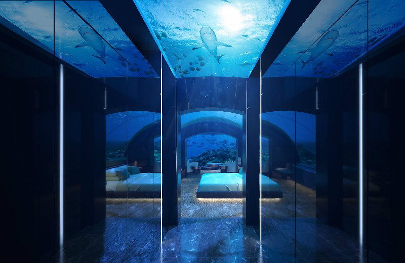 Underwater Villa A Stunning Underwater Villa Is Coming To The Maldives This Year feat 7