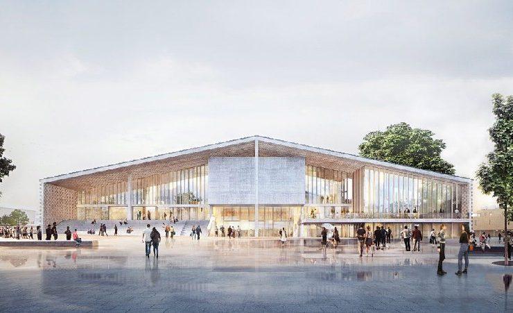Herzog & de Meuron Reveal Design for The Museum of the 20th Century