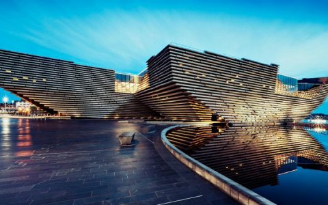 Discover Kengo Kuma's Incredible V&A Dundee Design Museum