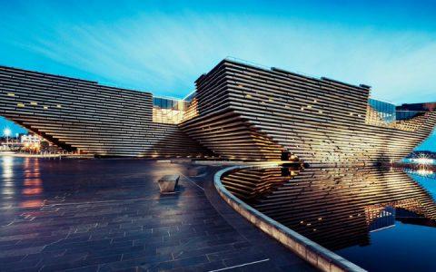 Discover Kengo Kuma's Incredible V&A Dundee Design Museum