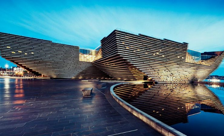 Discover Kengo Kuma's Incredible V&A Dundee Design Museum Kengo Kuma Discover Kengo Kuma's Incredible V&A Dundee Design Museum Kengo Kumas Incredible VA Dundee Design Museum 1 740x450