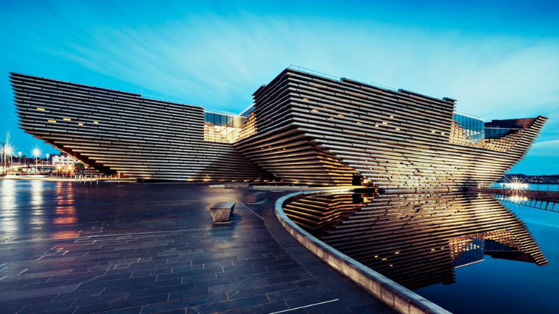 Discover Kengo Kuma's Incredible V&A Dundee Design Museum Kengo Kuma Discover Kengo Kuma's Incredible V&A Dundee Design Museum Kengo Kumas Incredible VA Dundee Design Museum 1