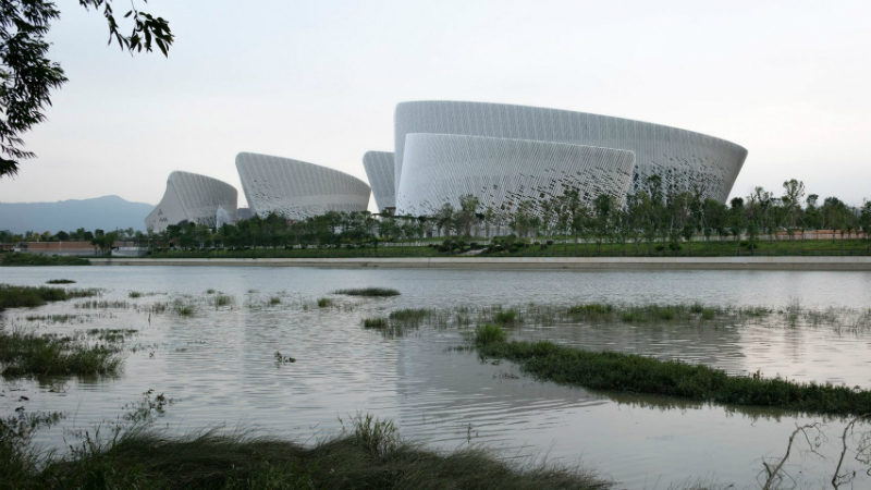New Contemporary Culture and Art Centre in China By PES Architects PES Architects New Contemporary Culture and Art Centre in China By PES Architects PES Architects Reveal Contemporary Culture and Art Centre in China 1