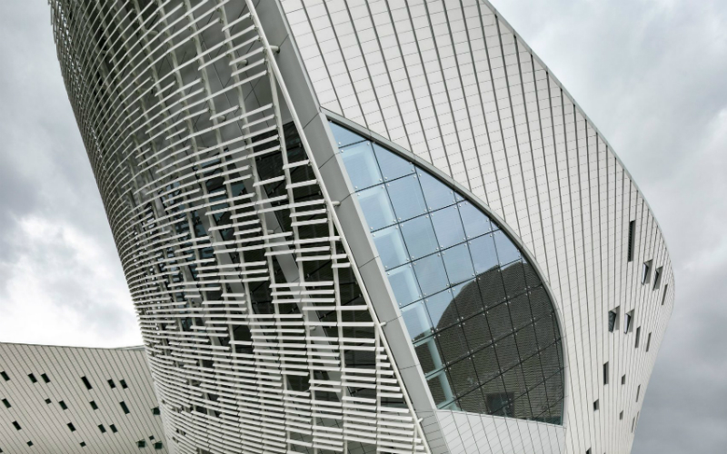 New Contemporary Culture and Art Centre in China By PES Architects PES Architects New Contemporary Culture and Art Centre in China By PES Architects PES Architects Reveal Contemporary Culture and Art Centre in China 4