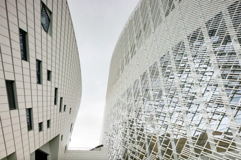 New Contemporary Culture and Art Centre in China By PES Architects PES Architects New Contemporary Culture and Art Centre in China By PES Architects PES Architects Reveal Contemporary Culture and Art Centre in China 5