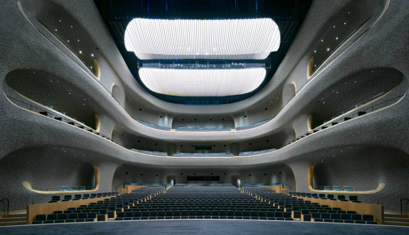 New Contemporary Culture and Art Centre in China By PES Architects PES Architects New Contemporary Culture and Art Centre in China By PES Architects PES Architects Reveal Contemporary Culture and Art Centre in China 6