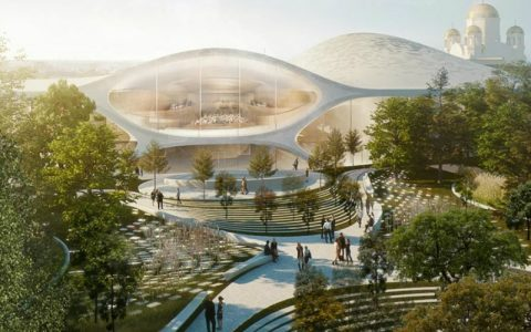 Zaha Hadid Zaha Hadid Architects To Build Russia's New Philharmonic Concert Hall feat 2 480x300