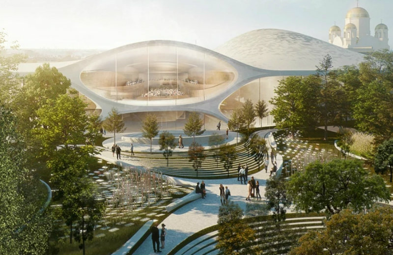 Zaha Hadid Zaha Hadid Architects To Build Russia's New Philharmonic Concert Hall feat 2