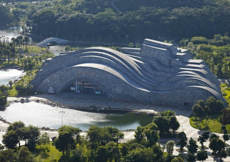 incredible architecture Suiseki Hall: The Incredible Architecture of China's Newest Hall feat 5 740x520