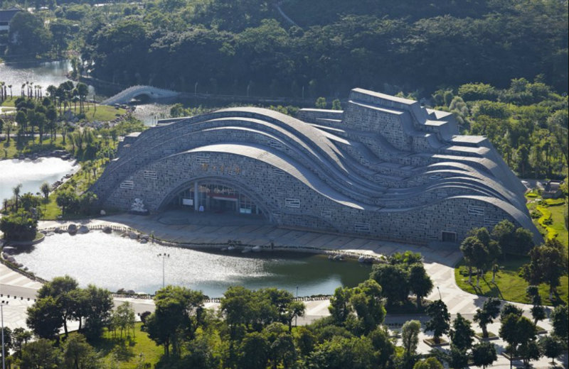 incredible architecture Suiseki Hall: The Incredible Architecture of China's Newest Hall feat 5