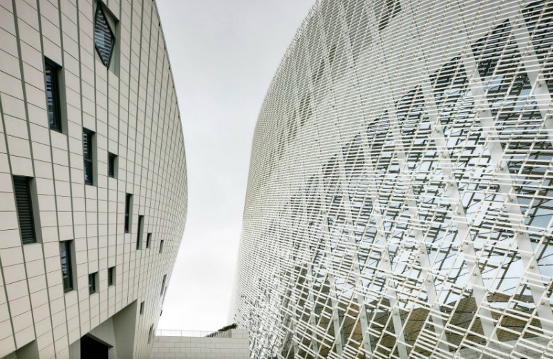 PES Architects New Contemporary Culture and Art Centre in China By PES Architects feat 6