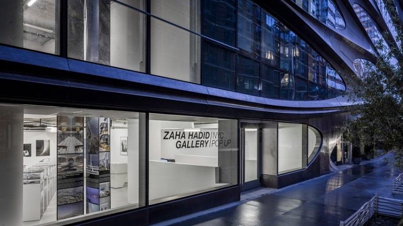 Inside The New York City Pop-Up Gallery By Zaha Hadid Architects