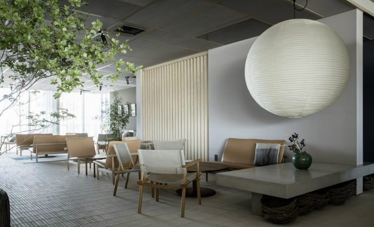 scandinavian design Inua, A Restaurant That Blends Japanese and Scandinavian Design Trends Tokyos New Restaurant Blends Japanese and Scandinavian Design Trends 1 740x450
